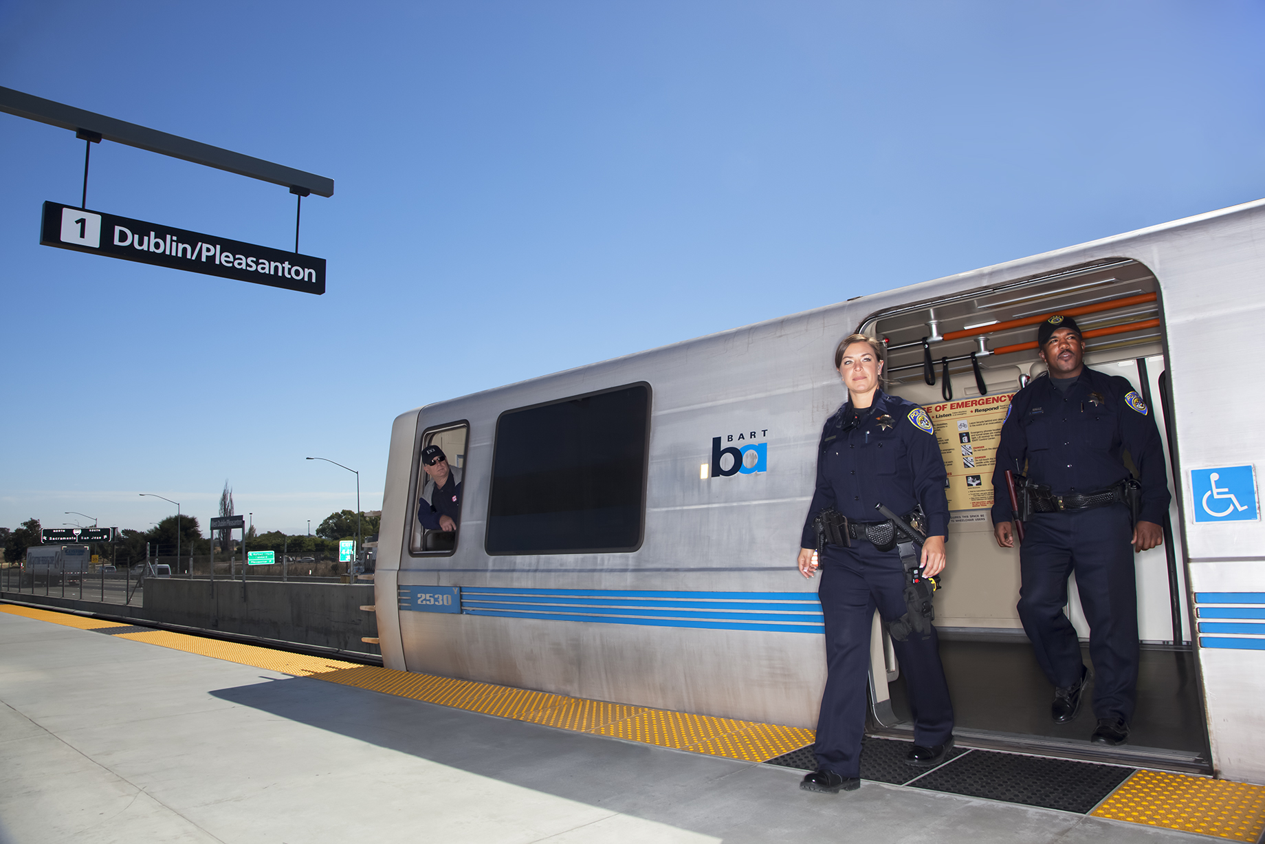 BART PD Car Campaign