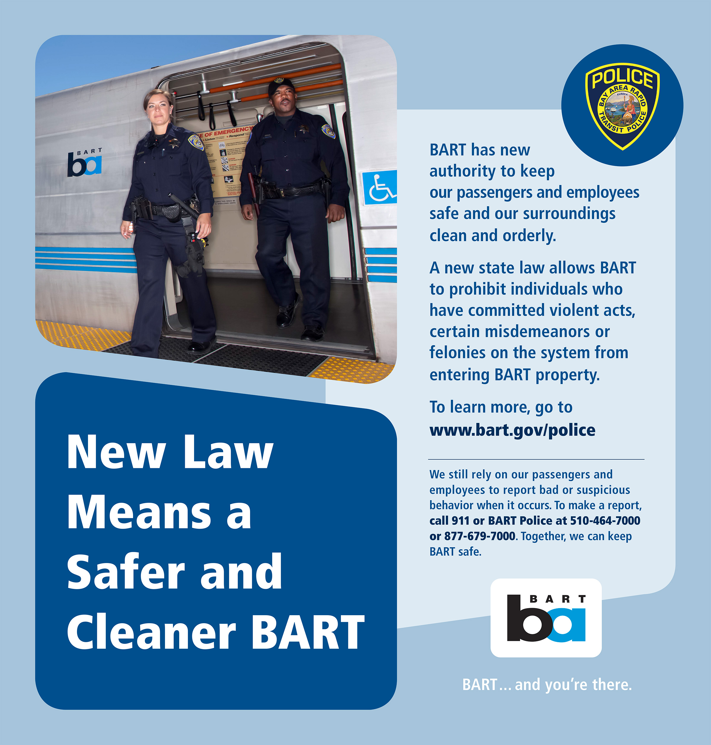BART Police Law Card